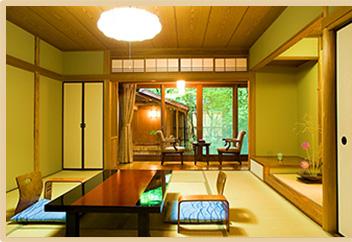 1階 露天付き客室(一間タイプ)